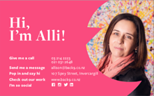 Alli Business Card